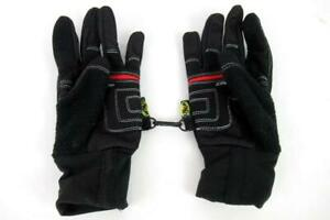 Garneau Flex Zone Wind Tex Eco Cycling Gloves Women's Size Large Black