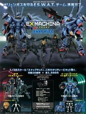 Hot Toys Appleseed Saga Ex Machina Snap Kits (bonus LANDMATE) RARE Figure (MISB)