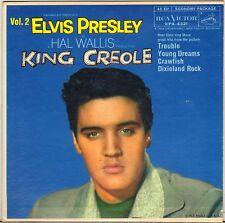 """ELVIS PRESLEY """"KING CREOLE VOL. 2"""" USA 50'S EP RCA VICTOR EPA-4321, 2eme LABEL !"""