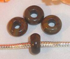 ♥ Halbedelsteinbead Bead Bamboo Jaspis Stone European Gemstone ♥ PBE016