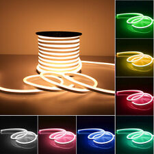 12V Flexible LED Strip Light Waterproof Sign Neon Lights Silicone Tube 1-5M Lamp
