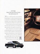 1996 Acura 3.5 RL 2-page Original Advertisement Car Print Ad J510