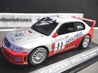 HYUNDAI Accent WRC WRC2 Rallye Monte Carlo 2003 #11 Loix IXO Altaya SP 1:43