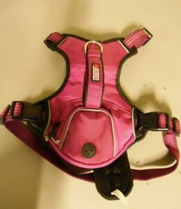Kong Harness with waste bag pocket Purple Large GIRTH 24.5 - 32.5 INCHES USED