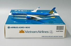 JC Wings 1:400 Vietnam Airlines A350-900 XWB 'Flaps Down' VN-A891 Diecast Model