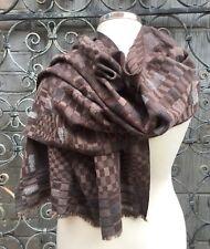 PAUL SMITH-Donna Designer Grande Sciarpa/Scialle-Custom progettato con trama LANA