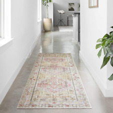 "Loloi Ii Skye Collection Printed Distressed Vintage Area Rug, 2'-6"" x 7'-6"" Runn"