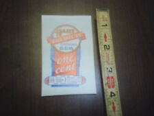 Hart premium chewing gum 1 cent water release decal stock # 114