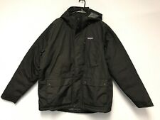 Patagonia Men Topley Down Jacket Parka Coat Black Size XL