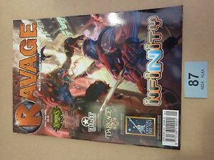 Wargaming Cool Mini or Not Magazine Ravage Issue 2 ticket87