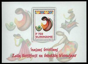Surinam 1996 - Mi-Nr. Block 68 ** - MNH - Weihnachten / X-mas