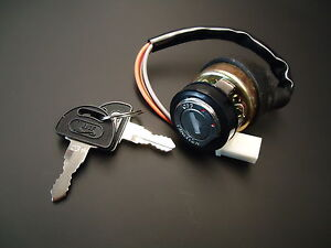 NEW Suzuki GT750 Ignition Switch & 2 Keys  / Kettle Water Buffalo Cable