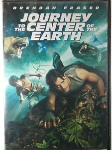 💿 Journey To The Center Of The Earth DVD Blockbuster Case Free Shipping