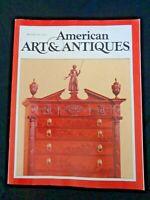 American Art & Antiques 1979 Louis Comfort Tiffany Theatre Design Joseph Urban