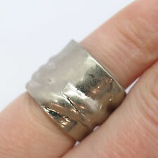 Vintage Textured Ring Size 5