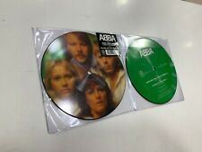 """ABBA PICTURE DISC 7"""" GIMME! GIMME! GIMME!  /  THE KING HAS LOST HIS CROWN"""
