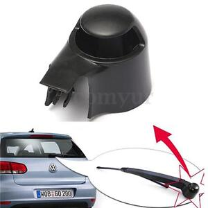 REAR WIPER WINDOW WASHER ARM COVER CAP FOR VW MK5 CADDY GOLF PASSAT POLO   /