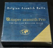 Belgian Super Aramith Pro Pool Billiards Balls Set Sealed Package  New