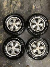 Porsche Fuchs Wheels 911912912e Matching Numbers 1976 14 X 5 12 German
