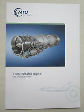 DOCUMENT RECTO VERSO MTU EJ200 MILITARY ENGINE EUROFIGHTER TYPHOON