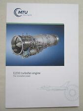 DOCUMENT RECTO VERSO MTU EJ200 MILITARY ENGINE EUROFIGHTER TYPHOON
