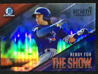 2019 BOWMAN READY FOR THE SHOW BO BICHETTE #2 BLUE JAYS