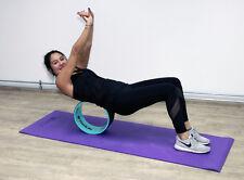 Yoga Wheel, Yogarolle, Pilatesrolle, Rückenstrecker, Gymnastik Rad, Massage Y33