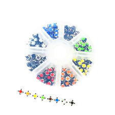 6x6x5mm 4 Pin DIP Push Button Momentary Tactile Switch 160pcs 8 Color