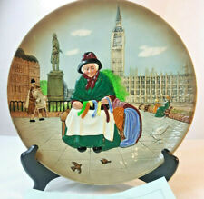 "Royal Doulton Character Silks & Ribbon 10"" Plate"