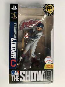 McFarlane Toys MLB The Show 19 Francisco Lindor Cleveland Indians Figure