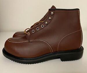 Red Wing 8249 Moc Toe Long Wear Work Steel Toe Boots Mens Sz 12 3E EEE NEW!!!