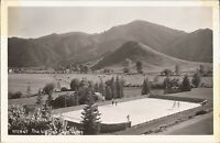 Sun Valley, IDAHO - The Ice Rink - 1950  - REAL PHOTO