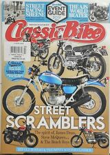 Classic Bike UK March 2017 Street Scramblers Spirit James Deen FREE SHIPPING sb