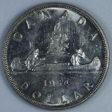 1954 Canada Silver Dollar Coin