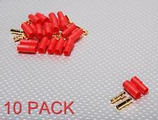 3,5 mm oculto, los conectores tipo bala (superior) 10 Pack 80a