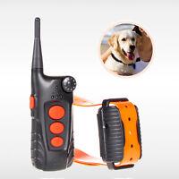 Aetertek AT-918C Remote Dog Training Shock Collar Rechargeable Auto Anti Bark