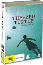 BRAND NEW The Red Turtle (DVD, 2017, 2-Disc Set) *PREORDER R4 Studio Ghibli