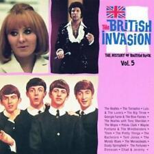 The British Invasion: History Of British Rock Vol. 5 w/ Artwork MUSIC AUDIO CD