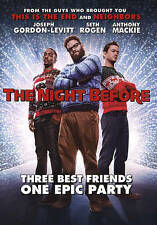 The Night Before (DVD,2016)WS,hilarious Christmas movie,Seth Rogen,same day ship