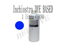 Ricarica Cartucce 1000ml  inchiostro CIANO per Brother Cano Epson HP