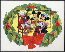 Turks & Caicos, Sc #0549, MNH, 1982, S/S, Disney, Christmas, 282-5