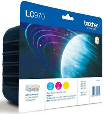 Original Brother LC970 Multipack Ink Cartridge, LC970C LC970M LC970Y LC970RBWBP