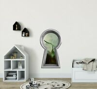 3D Keyhole Wall Decal Wicked Witch Wizard of OZ Fantasy Wall Art Sticker