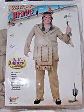 Size 48 Men's Western American Brave Costume Cosplay Halloween Dance