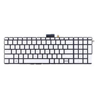 Replacement Silver US Layout Laptop Keyboard for HP ENVY X360 15M 15-BP