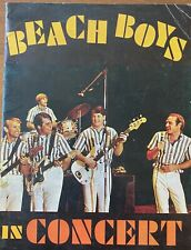 1964 Vintage The Beach Boys In Concert Official Tour Program Brian Wilson