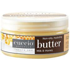 Cuccio Naturale Crema corpo mani piedi LATTE E MIELE idratante nutriente 237gr