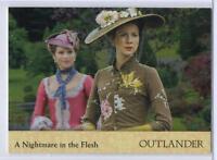 Outlander Season 2 (2017) RAINBOW FOIL BASE Card #27 / A NIGHTMARE IN THE FLESH