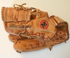 "MacGregor Bic Mac Flex Action LHT 12.5"" 2497C Leather Baseball Glove"