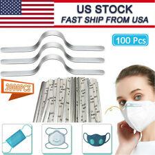 Nose Bridge Strip Aluminum Wire Adhesive Metal for DIY Making Face Mask US STOCK